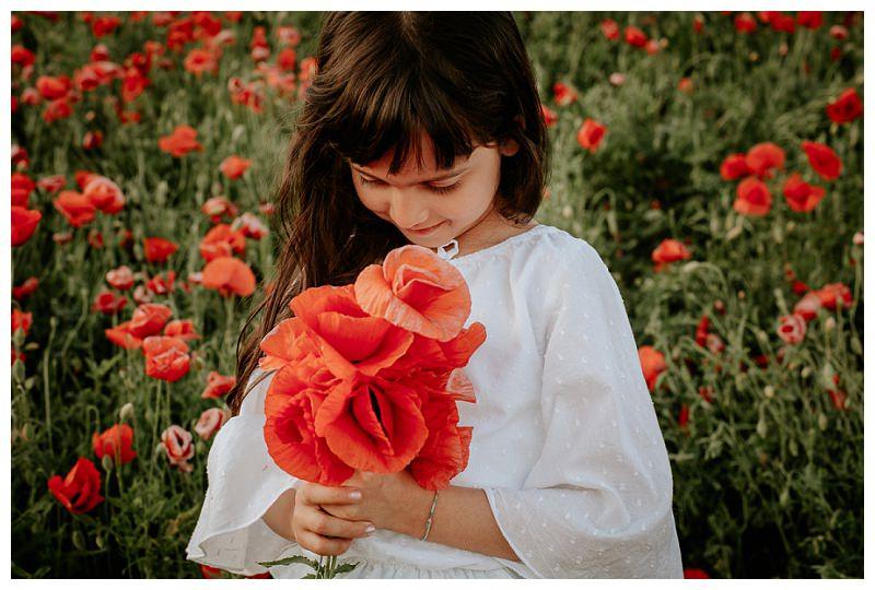 Servizio Fotografico Bimbi Primavera