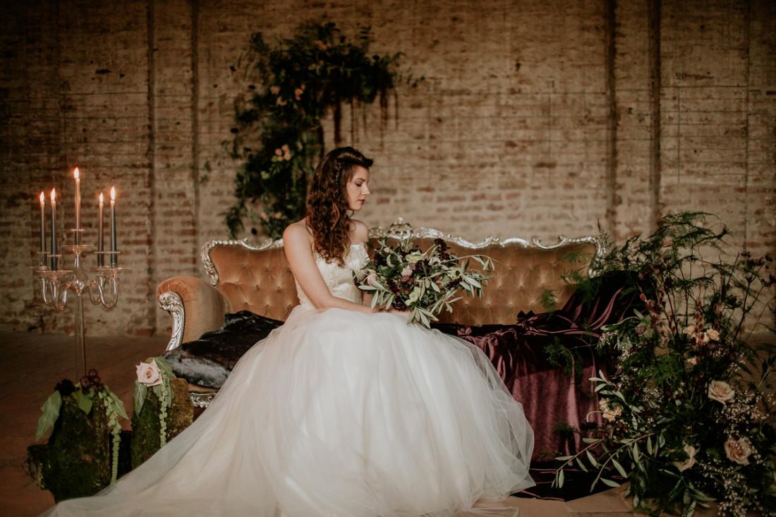 Matrimonio ispirazione industriale
